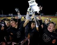 Skyline stays unbeaten with big night from backfield duo, wins football district