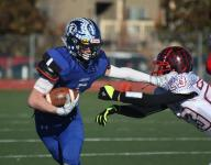 Res. Christian football rolls in first playoff game
