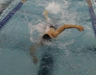 Kickapoo swimmer strikes gold at state meet