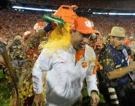 Clemson learns No. 1 ranking not for faint at heart