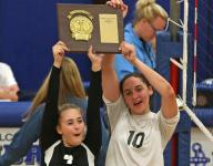 Volleyball players reflect on section titles, talk states