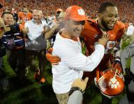 Clemson holds No. 1 College Football Playoff ranking