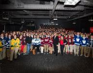 Hockey: Devils, van Riemsdyk address NJ high school captains