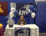 Gymnasts Calandra, Stach sign letters of intent