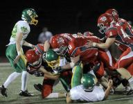 Johnstown football's Alley blocks opponents' path