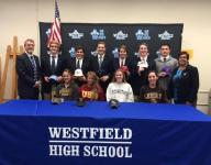 Voorhees' Roncoroni signs NLI to continue field hockey career