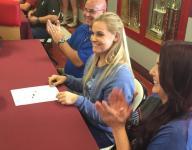 Addison Roark signs with Tech softball