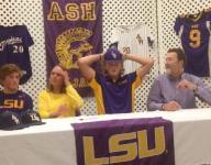 Boyhood dream to reality, Beck signs with LSU baseball