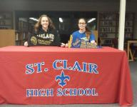 St. Clair pair signs to future teams