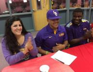 Pineville's Johnson signs with LSU