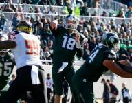 Cook goes down, D steps up: MSU 24, Maryland 7