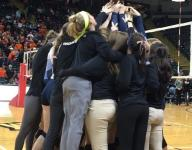 Mt. Notre Dame wins third straight volleyball state championship