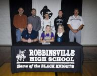 Robbinsville's Martin signs with WCU