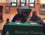 Four athletes from Bishop Manogue sign