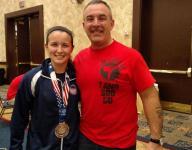 Garcia wins 2 silvers at WKC World Championships