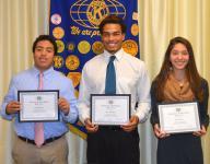 Elmira Kiwanis Club honors Express athletes