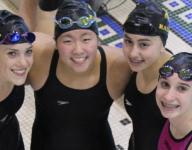 Raiders have four all-state swimmers in D2