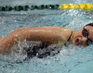 All-conference girls swimming and diving