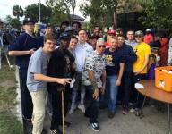 University Christian baseball gives back during holiday weekend