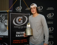Gatorade National AOY Finalist Spotlight: Jacob Eason, Football