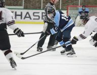 From viral score to six goals in opener for N.J. hockey star Max Halvorsen