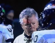 No. 3 Colquitt County coach Rush Propst head butts player, opens bloody gash in middle of playoff game