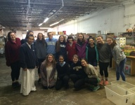 Hispanic Honors Society Gives Back to Missionaries of the Poor