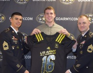 Another Ohio State commit, TE Jake Hausmann, gets Army All-American jersey