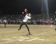 VIDEO: Mason Hurst's one-handed TD grab is start of bowl earning rally