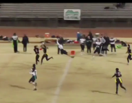 VIDEO: Meet the girls' flag football answer to Odell Beckham Jr.