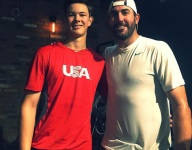 Christmas comes early: Top pitching prospect works out with Justin Verlander