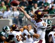 College notes: Rush sets Central Michigan passing mark