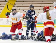 Ithaca High girls hockey team reloads with youth