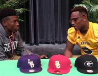 Carver WR Lane talks with 5-star LB Wilson about top 5