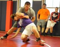 Football-playing wrestlers must plan to keep weight in check