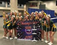 Erwin, Reynolds cheerleaders revel in state championships