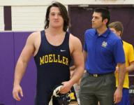 Moeller returns deep wrestling team