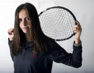 GIRLS' TENNIS: Fisher has one goal - state title