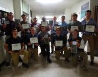Lancaster football team honored for outstanding season