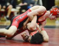 Redwings, Falcons notch dual-meet wins