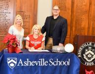 Asheville School's Rancourt signs