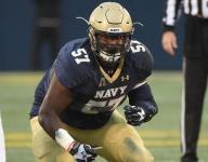 Mull: E.K. Binns' journey continues with his final game at Navy