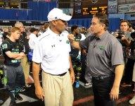 Herm Edwards, Steve Mariucci return to coach Under Armour All-America Game