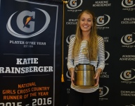 Katie Rainsberger dishes about broken bones, emerging from her mom's athletic shadow and what's next