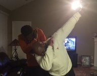 Texas coach Charlie Strong is on a dabbing spree across the Lone Star State