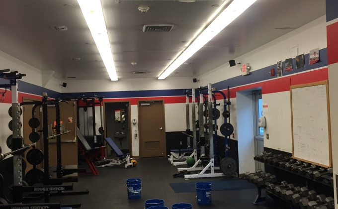 Track team suffering from weight room and track issues