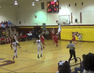 VIDEO: N.C. hoopers connected on off-the-backboard alley-oop and the crowd lost their minds