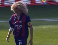 The next Xavi may already be at Barcelona ... and named Xavi