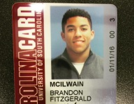 Brandon McIlwain is officially enrolled at South Carolina, and his MLB future is off