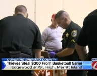 Thieves steal hundreds from ticket cash box at Florida basketball game